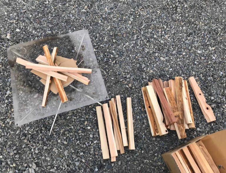 焚き火道具