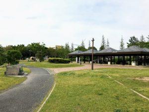 若洲公園キャンプ場キャンプサイト