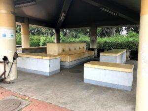 若洲公園キャンプ場炊事棟