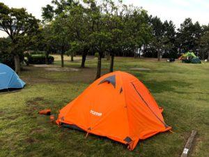 若洲公園キャンプ場