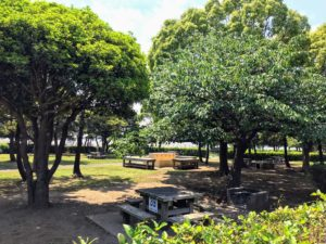 城南島海浜公園キャンプ場水道