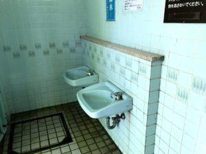 平和島公園キャンプ場トイレ