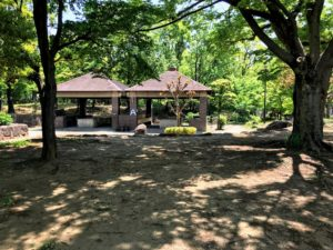 平和島公園キャンプ場区画A