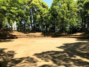 平和島公園キャンプ場ファイヤーサークル