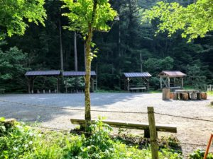 日影沢キャンプ場下段