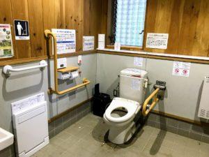 日影沢キャンプ場トイレ