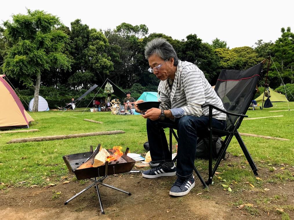 焚き火麻婆豆腐丼