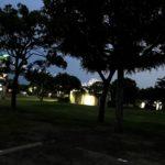 若洲公園キャンプ場ゲートブリッジ