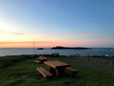 2019北海道遠征焚き火キャンプツーリング(3:礼文島1)