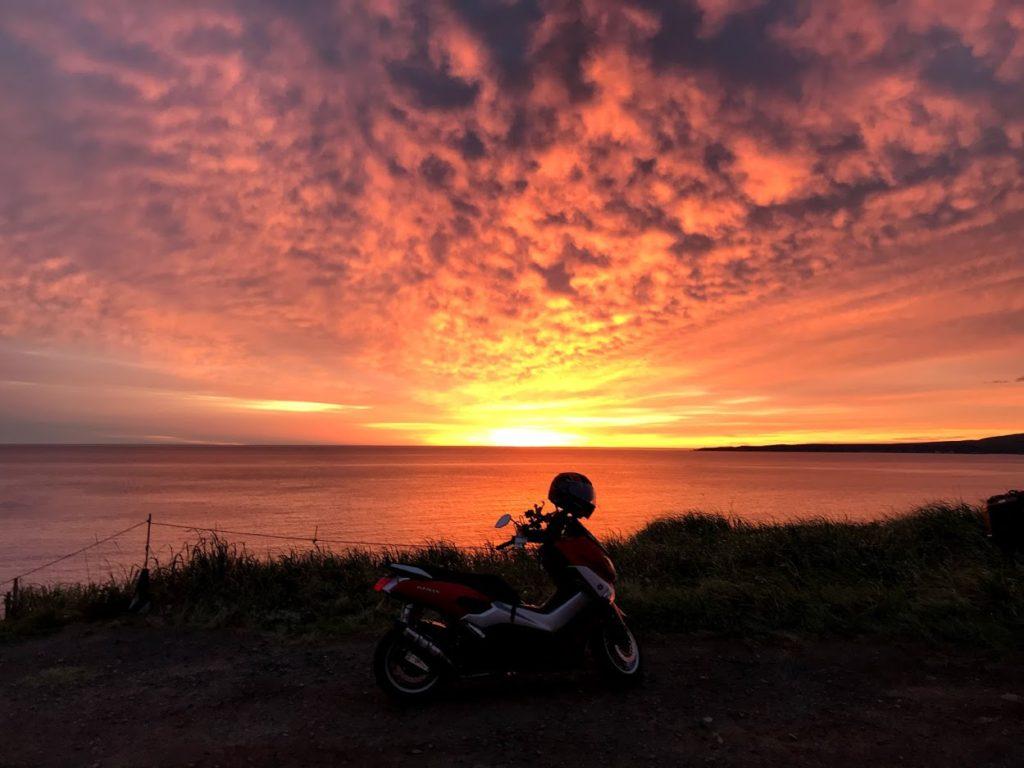 スコトン岬の日の出 2019年9月11日水曜日 5:03