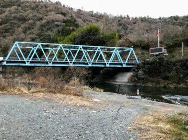 愛川橋下 中津川河川敷
